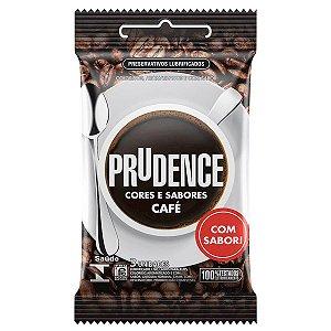 Preservativo em Látex Cores e Sabores Café Prudence - Erótika Store