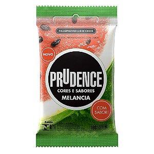 Preservativos Cores e Sabores Melancia Prudence-Erotika Store