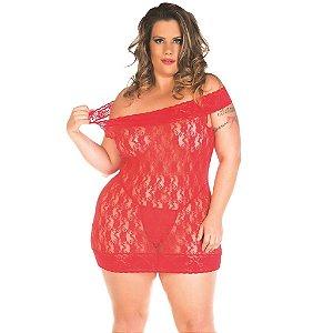 Camisola Malicia Plus Size Pimenta Sexy- Erótika Store