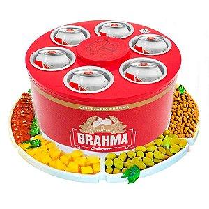 Cooler 3g-latas Brahma + Petisqueira Rotativa doctor Cooler