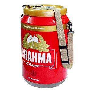 Cooler Térmico 24 Latas Brahma e Alça Nylon Bebida Gelada Refrigerante Festa