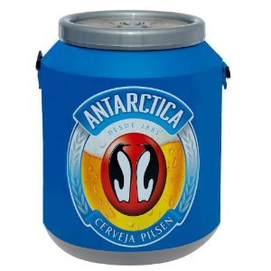 Cooler Térmico para 12 Latas de 350 ml Antarctica