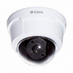 Camera IP FULL HD 2 Megapixel POE Cartão de Memória Dlink DCS 6112
