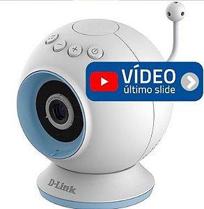 Babá Eletronica com Camera Dlink DCS 825L | Wifi | HD 720P | Visão Noturna | Áudio | Cartão | Zoom