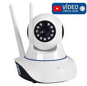 Camera IP HD WIFI 720P |Cartão | Áudio | Movimentação |Alarme | Visão Noturna