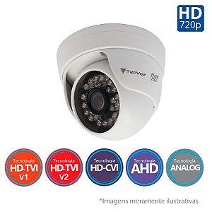 Câmera Dome Tecvoz 5x1 Flex HD CDM-128P