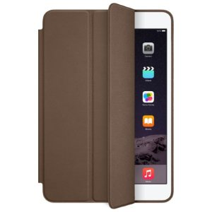 Smart case iPad mini Couro Marron