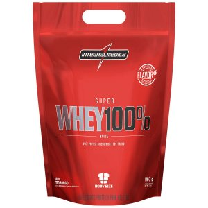 Super Whey 100% Pure - 907g - Refil - Integralmédica