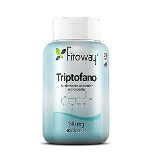 Triptofano - 30 Cápsulas - Fitoway