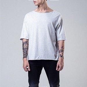 Camiseta Mescla Claro - M - Lamafia