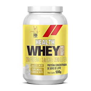 Health Whey Protein 900g - Health Labs