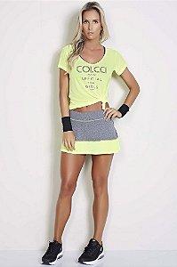 Shorts Saia com Telinha - Colcci Fitness