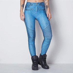 Calça Legging Blue Sky - M - Labellamafia
