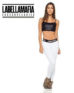Calça Legging White - M - Labellamafia