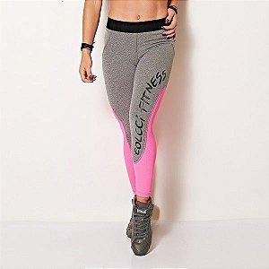 Calça Legging Fusô Recortes - Colcci Fitness
