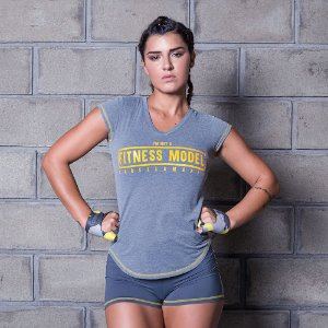 Blusa Cross Training Classic Gray - Labellamafia