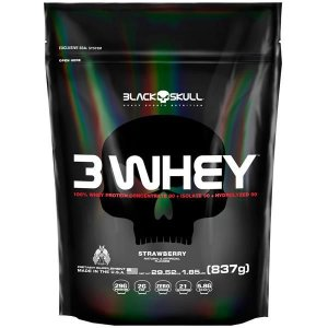 3 Whey Protein (837g) - Black Skull