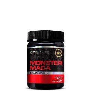 Monster Maca Peruana - 120 Cápsulas - Probiótica