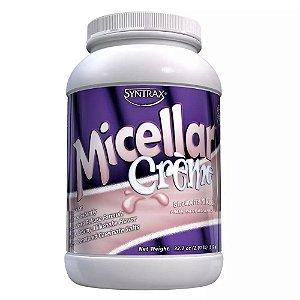 Caseína Micellar Creme Milkshake 916 G - Syntrax