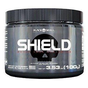 Shield Pure Glutamine (100g) - Black Skull