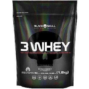 3 Whey Protein (1800g) - Black Skull
