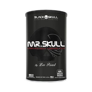 Mr Skull (44packs) - Black Skull