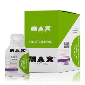 New Up Gel Power - 10 Unidades - Max Titanium