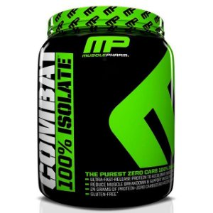 Combat 100% Isolate - 2269g (5lbs) - Muscle Pharm