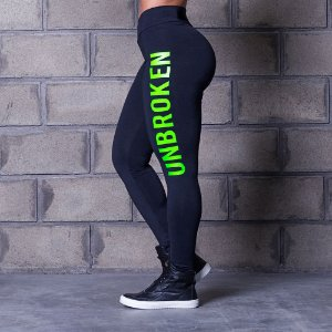Calça Legging Cross Trainning Unbroken Green - Labellamafia