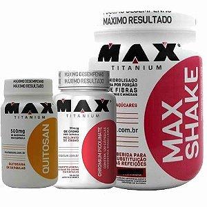 Combo Emagrecedor Max Titanium