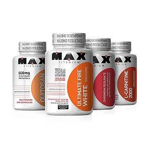Combo Metabolismo Ativo Max Titanium