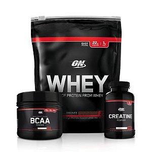 Combo Black Line - Optimum Nutrition