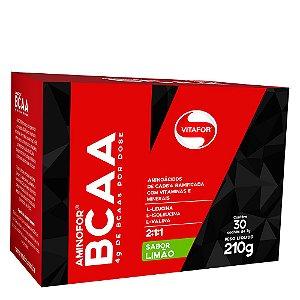 Aminofor BCAA - 30 sachês de 7g - Vitafor