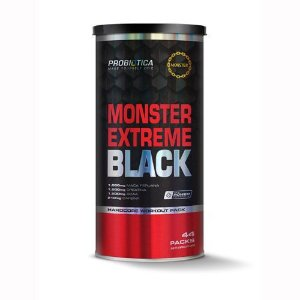 Monster Extreme Black - 44 packs - Probiótica (Novo)