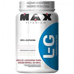 L-G Glutamina - 600g - Max Titanium