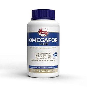 Omegafor Plus 1000mg - 120 Cápsulas - Vitafor