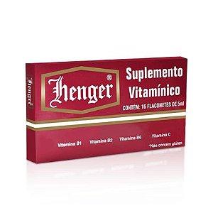 Henger Suplemento Vitamínico 16 Flaconetes de 5ml