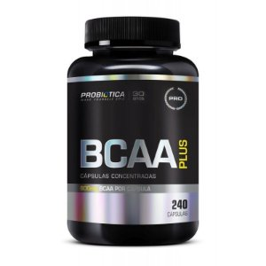 BCAA Plus 800mg 240 Cáps - Probiótica