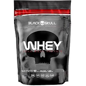 100% Whey Protein (1800g) Black Skull Morango