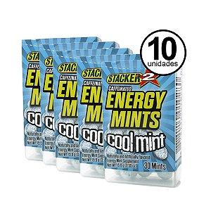 Combo (10 Unidades Energéticos ENERGY MINTS - STACKER 2 - 30 Drops Cada)