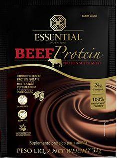 Beef Protein Sachê 32G - Essential Nutririon