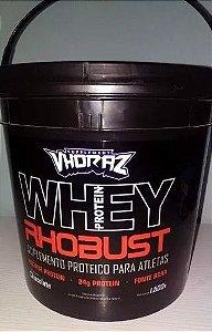 Whey Protein Concentrado Rhobust 1.5kg Vhoraz