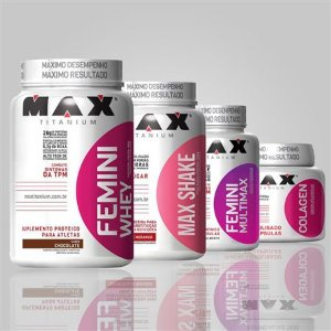 Combo Feminino Definição - Max Titanium