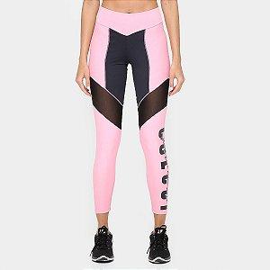 Calça Legging Recorte Tule - Colcci Fitness