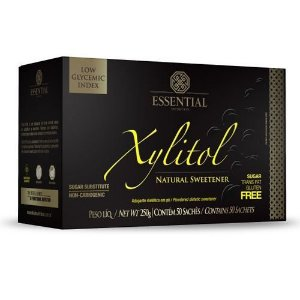 Xylitol Sachê 50 x 5g - Essential Nutrition