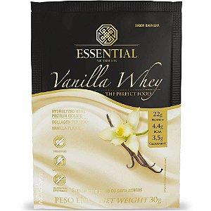 Vanilla Whey (1 Sachê 30g) Essential Nutrition