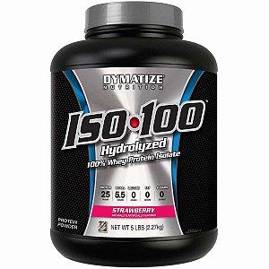 ISO 100 Whey Protein 2.270g (5lbs) - Dymatize Sabor Morango