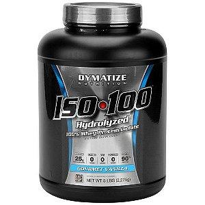 ISO 100 Whey Protein 2.270g (5lbs) - Dymatize Sabor Baunilha