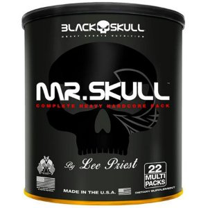 Mr Skull (22packs) - Black Skull