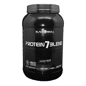 Protein 7 Blend Caveira Preta (837g) - Black Skull